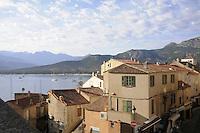 - Corsica, Calvi, view of the city<br /> <br /> - Corsica, Calvi, veduta della città