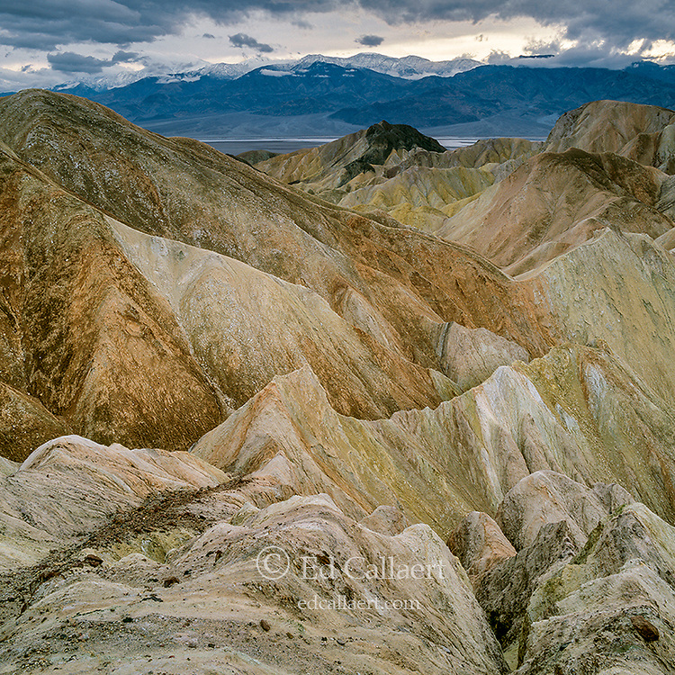 Clearing Storm, Golden Canyon, Zabriske Point, Death Valley National Park, California