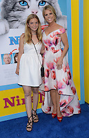 Cheryl Hines + daughter Cat @ the premiere of 'Nine Lives' held @ the Chinese theatre.<br /> August 1, 2016