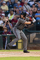 AFL East first baseman Pavin Smith (44), of the Salt River Rafters and the Arizona Diamondbacks organization, at bat during the Arizona Fall League Fall Stars game at Surprise Stadium on November 3, 2018 in Surprise, Arizona. The AFL West defeated the AFL East 7-6 . (Zachary Lucy/Four Seam Images)