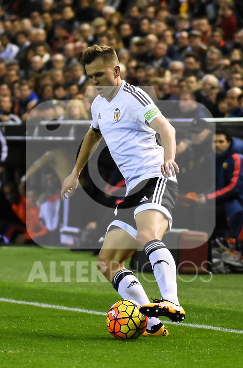 Valencia's    Cheryshev   during La Liga match. February 13, 2016. (ALTERPHOTOS/Javier Comos)
