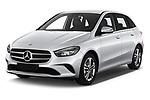 2019 Mercedes Benz B-Class - 5 Door Mini Mpv Angular Front stock photos of front three quarter view