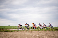 the early breakaway group<br /> <br /> 55th Amstel Gold Race 2021 (1.UWT)<br /> 1 day race from Valkenburg to Berg en Terblijt; raced on closed circuit (NED/217km)<br /> <br /> ©kramon