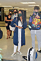 MIAMI, FL - JULY 15: (EXCLUSIVE COVERAGE) Garcelle Beauvais (L) is seen at Miami International Airport with her son Jax Joseph Nilon on July 15, 2021 in Miami, Florida.  (Photo by Vallery Jean / jlnphotography.com )