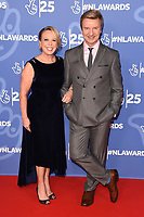 Jane Torvill and Christopher Dean<br /> celebrating the inspirational winners in this year's 25th Birthday National Lottery Awards, the search for the UK's favourite National Lottery-funded projects. The glittering National Lottery Awards show, hosted by Ore Oduba, is on BBC One at 11pm on Tuesday 19th November.<br /> <br /> ©Ash Knotek  D3527 15/10/2019