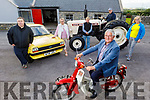 Members of the Spa/Fenit Community Council launch their Vintage Car, Tractor and Bike Run on Monday at the Forge in Churchill and it takes place on the 15th and 16th of August during National heritage Week.  <br /> Seated on the motorbike: Dermot Crowley.<br /> Back l to r: Brendan Brosnan, Nora Landers, John Foley, Peter Carmody and Michelle Burke.