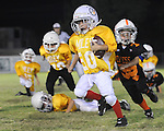 Images from youth football in Jefferson Parish including teams from Little Farms, Mike Miley and Jefferson Playgrounds.  These images were shot 10/12/10 at Miley Playground.