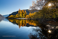The beauty of Autumn in the Central Otago region is hard to beat, here Wanaka-based landscape photographer Christopher Thompson uses his kayak to reach different destinations around the lake to capture its colourful wonders.