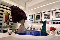 Italien, Capri, Pop-Gallery in Viale Axel Munthe in Anacapri