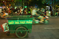 Ho Chi Minh City district one at night