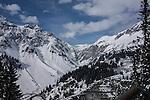 Riding Albona Chair 1 at Stuben Ski Area, St Anton, Austria,