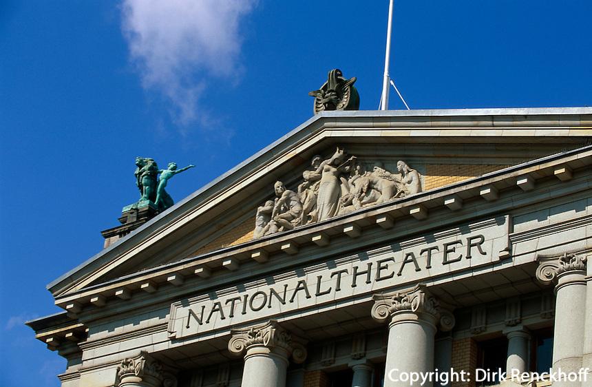 Nationaltheater Nasjionaltheatret, Oslo, Norwegen