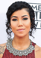 LOS ANGELES, CA, USA - NOVEMBER 23: Jhene Aiko arrives at the 2014 American Music Awards held at Nokia Theatre L.A. Live on November 23, 2014 in Los Angeles, California, United States. (Photo by Xavier Collin/Celebrity Monitor)