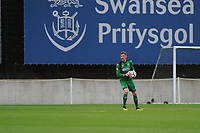 Monday 20th August 2018<br /> Pictured: Swansea City's Josh Gould<br /> Re: Swansea City U23 v Derby County U23 Premier League 2 match at the Landore Training facility, Swansea, Wales, UK