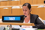 The representative of Turkey exercises her country's right of reply during the general debate of the General Assembly's seventy-first session<br /> <br /> <br /> <br /> General Assembly Seventy-first session 20th plenary meeting<br /> <br /> General Debate