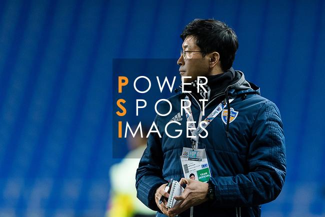 Ulsan Hyundai Head Coach Kim Do Hoon during the AFC Champions League 2017 Group E match between Ulsan Hyundai FC (KOR) vs Brisbane Roar (AUS) at the Ulsan Munsu Football Stadium on 28 February 2017 in Ulsan, South Korea. Photo by Victor Fraile / Power Sport Images