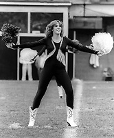 Ottawa Rough Riders cheerleader. Photo F. Scott Grant
