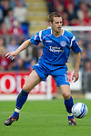 St Johnstone v Aberdeen...21.08.10  .Alan Maybury on debut.Picture by Graeme Hart..Copyright Perthshire Picture Agency.Tel: 01738 623350  Mobile: 07990 594431