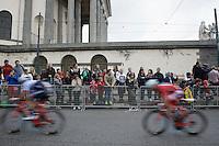Giacomo Nizzolo (ITA/Trek-Segafredo)<br /> <br /> stage 21: Cuneo - Torino 163km<br /> 99th Giro d'Italia 2016