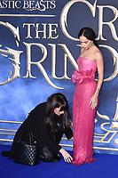 """Zoë Kravitz<br /> arriving for the """"Fantastic Beasts: The Crimes of Grindelwald"""" premiere, Leicester Square, London<br /> <br /> ©Ash Knotek  D3459  13/11/2018"""