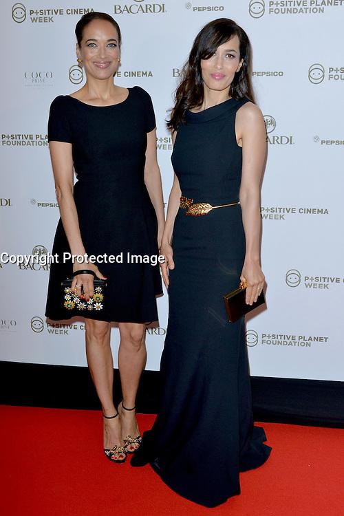 18 mai 2016 Cannes France Hotel Martinez Positive Cinema Day avec Carmen CHAPLIN actress et Dolores CHAPLIN actress