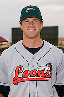 Kyle Russell #25 of the Great Lakes Loons at Fifth Third Field April 22, 2009 in Dayton, Ohio. (Photo by Brian Westerholt / Four Seam Images)