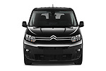 Car photography straight front view of a 2020 Citroen Berlingo - 4 Door Car Van Front View