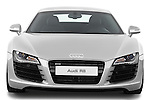 Straight front view of a 2008 - 2012 Audi R8 V8 FSI Coupe.