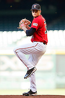Starting pitcher Shane Broyles #32 of the Texas Tech Red Raiders in action against the Houston Cougars at Minute Maid Park on March 4, 2012 in Houston, Texas.  The Red Raiders defeated the Cougars 10-4.  Brian Westerholt / Four Seam Images