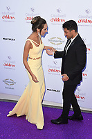 Emily and Peter Andre<br /> at the Caudwell Butterfly Ball 2017, Grosvenor House Hotel, London. <br /> <br /> <br /> ©Ash Knotek  D3268  25/05/2017