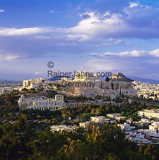 Griechenland, Attika, Athen: Akropolis und Parthenon | Greece, Attica, Athens: Acropolis and Parthenon