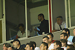 Atletico de Madrid´s coach Diego Pablo `Cholo´Simeone out of the field for his expulsion during 2014-15 La Liga match at Vallecas stadium. August 25, 2014. (ALTERPHOTOS/Victor Blanco)
