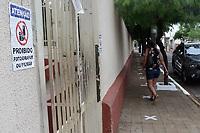 Serrana (SP), 16/02/2021 - Projeto S - Escola Prof Maria Celina W. de Assis. Escolas que serão usadas como Postos de Participação do Projeto S do Instituto Butantan na cidade de Serrana, interior de São Paulo, na manhã desta terça-feira (16). O estudo, inédito no mundo, foi idealizado pelo Instituto Butantan e tem como objetivo analisar o impacto e a eficácia da vacinação na redução de casos de Covid-19 e no controle da pandemia.