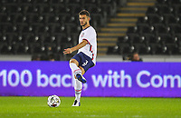 12th November 2020; Liberty Stadium, Swansea, Glamorgan, Wales; International Football Friendly; Wales versus United States of America; Matt Miazga of USA passes the ball forward