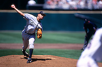SAN FRANCISCO, CA:  Jose Lima of the Houston Astros in action during the game against the San Francisco Giants at Candlestick Park in San Francisco, California in 1999. (Photo by Brad Mangin)