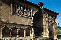 Iglesia del Santo Sepulcro, Estella, Navarra, Spanien