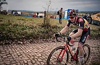 Belgian National Champion Laurens Sweeck (BEL/Pauwels Sauzen-Bingoal) up the infamous Koppenberg.<br /> <br /> Koppenbergcross 2020 (BEL)<br /> men's race<br /> <br /> ©kramon