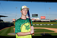 Matthew McMahon during the Under Armour All-America Tournament powered by Baseball Factory on January 17, 2020 at Sloan Park in Mesa, Arizona.  (Zachary Lucy/Four Seam Images)
