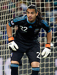 27.06.2010, Soccer City Stadium, Johannesburg, RSA, FIFA WM 2010, Argentina (ARG) vs Mexico (MEX), im Bild Goalkeeper of Argentina Sergio Romero during the 2010 FIFA World Cup South Africa. EXPA Pictures © 2010, PhotoCredit: EXPA/ Sportida/ Vid Ponikvar +++ Slovenia OUT +++