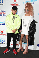 Jax Jones and Raye<br /> at the Capital Summertime Ball 2017, Wembley Stadium, London. <br /> <br /> <br /> ©Ash Knotek  D3278  10/06/2017