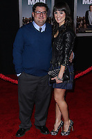 """HOLLYWOOD, CA - NOVEMBER 03: Bobby Moynihan, Brynn O'Malley at the Los Angeles Premiere Of DreamWorks Pictures' """"Delivery Man"""" held at the El Capitan Theatre on November 3, 2013 in Hollywood, California. (Photo by Xavier Collin/Celebrity Monitor)"""