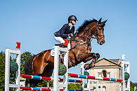 AUS-Sophie Adams rides Ridire Dorcha during the Showjumping for the CCIO-S 4* (Teams). 2021 GBR-Saracen Horse Feeds Houghton International Horse Trials. Hougton Hall. Norfolk. England. Saturday 29 May 2021. Copyright Photo: Libby Law Photography