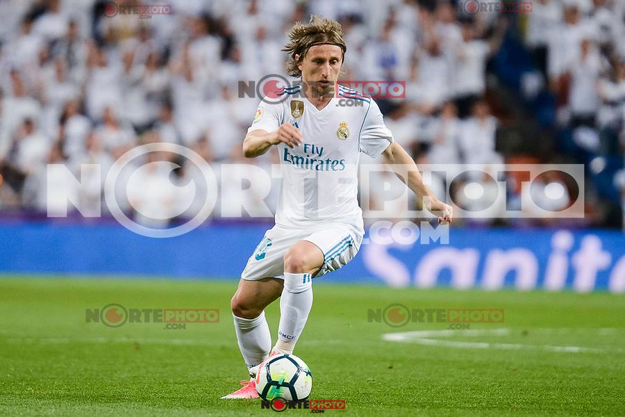 Real Madrid Luka Modric during La Liga match between Real Madrid and Athletic Club at Santiago Bernabeu Stadium in Madrid. April 19, 2017. (ALTERPHOTOS/Borja B.Hojas) /NortePhoto.com