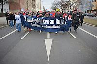 Ein Jahr nach dem Mord an Burak B. und dem Mordversuch an seinen Freunden zogen mehrere hundert Menschen mit einer Gedenkdemonstration durch Berlin-Neukoelln.<br />Ein Unbekannter hatte am 5. April 2012 in Neukoelln auf eine Gruppe Jugendlicher geschossen und konnte unerkannt fluechten. Die Polizei war bislang nicht in der Lage den Taeter zu ermitteln.<br />6.4.2013, Berlin<br />Copyright: Christian-Ditsch.de<br />[Inhaltsveraendernde Manipulation des Fotos nur nach ausdruecklicher Genehmigung des Fotografen. Vereinbarungen ueber Abtretung von Persoenlichkeitsrechten/Model Release der abgebildeten Person/Personen liegen nicht vor. NO MODEL RELEASE! Don't publish without copyright Christian-Ditsch.de, Veroeffentlichung nur mit Fotografennennung, sowie gegen Honorar, MwSt. und Beleg. Konto:, I N G - D i B a, IBAN DE58500105175400192269, BIC INGDDEFFXXX, Kontakt: post@christian-ditsch.de<br />Urhebervermerk wird gemaess Paragraph 13 UHG verlangt.]