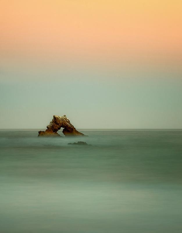 Arch Rock. Corona Del Mar, Californiua
