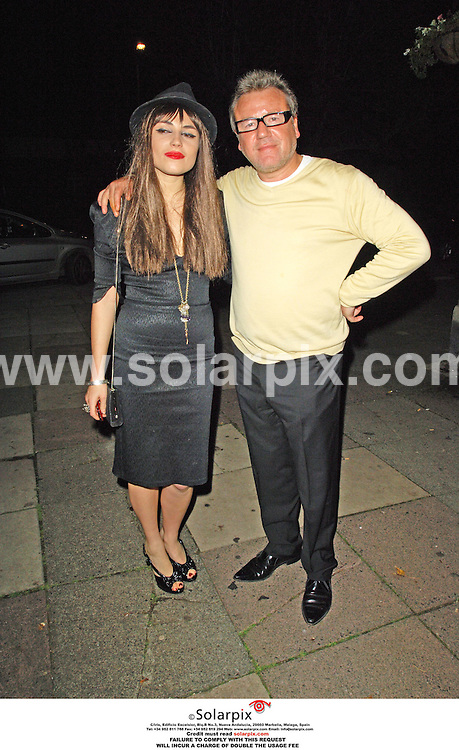 ALL-ROUND EXCLUSIVE PICTURES BY SOLARPIX.COM - 15.10.06.**MUST CREDIT SOLARPIX.COM OR DOUBLE USAGE FEE CHARGED**.14/10/06. London.Celebrities from Eastenders, along with others, arrive for a birthday party for Angela Londsdale, held by her husband, Perry Fenwick, at the Princess Alexandra Pub, Crouch End..THIS PICTURE: RAY WINSTONE AND DAUGHTER LOIS WINSTONE.REF: 2917 MSR-PRS
