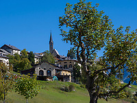 Guarda bei Scuol, Unterengadin, Graubünden, Schweiz, Europa<br /> Guarda, Scuol, Engadine, Grisons, Switzerland