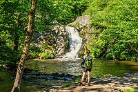 France, Nievre, Regional Natural Park of Morvan, Gouloux, the Saut du Gouloux // France, Nièvre (58), Parc naturel régional du Morvan, Gouloux, le Saut de Gouloux