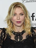 Courtney Love @ the 2016 amfAR's Inspiration Gala held @ the Milk studios.<br /> October 27, 2016 , Los Angeles, USA. # SOIREE 'AMFAR'S INSPIRATION GALA 2016' A LOS ANGELES