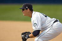 June 8, 2008: Tacoma Rainier first baseman Bryan LaHair during a Pacific Coast League game against the Fresno Grizzlies at Cheney Stadium in Tacoma, Washington